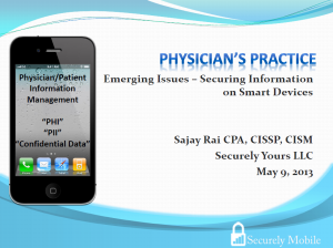 Physicians practice