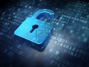 16927107-security-concept-blue-opened-padlock-on-digital-background-3d-render